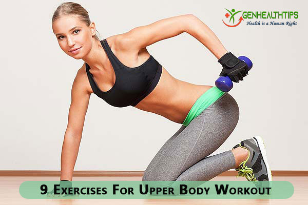 Upper Body Workout, Genmedicare, Genhealthtips