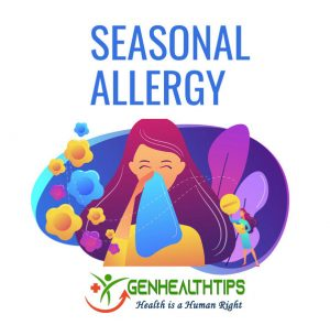 Seasonal allergies, Genmedicare, Genhealthtips