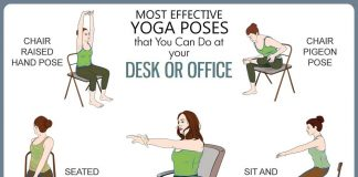 Chair Yoga Poses Genhealthtips Genmedicare