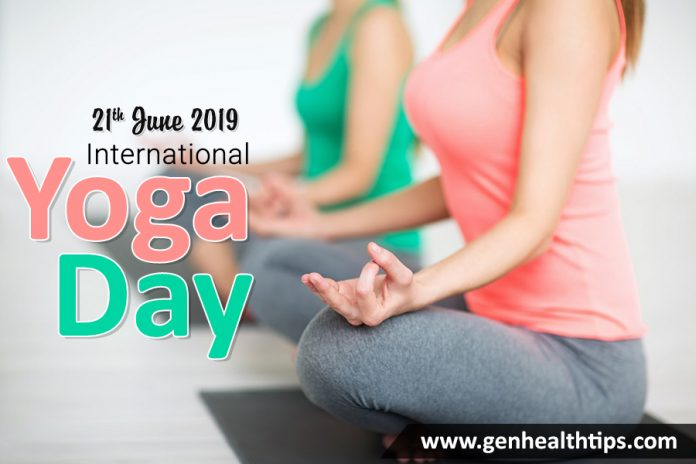 International Yoga Day, genhealthtips