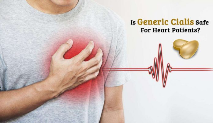 Generic Cialis, Is Generic Cialis Safe For Heart Patients?, genhealthtips